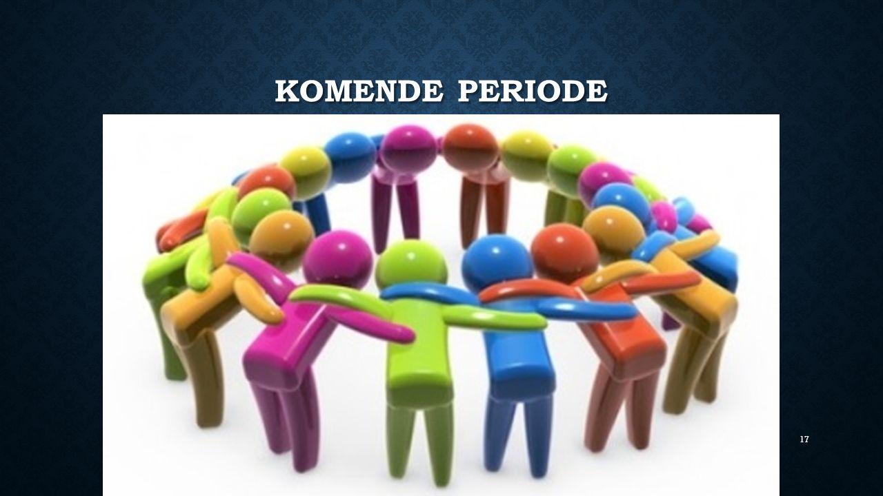 KOMENDE PERIODE 17