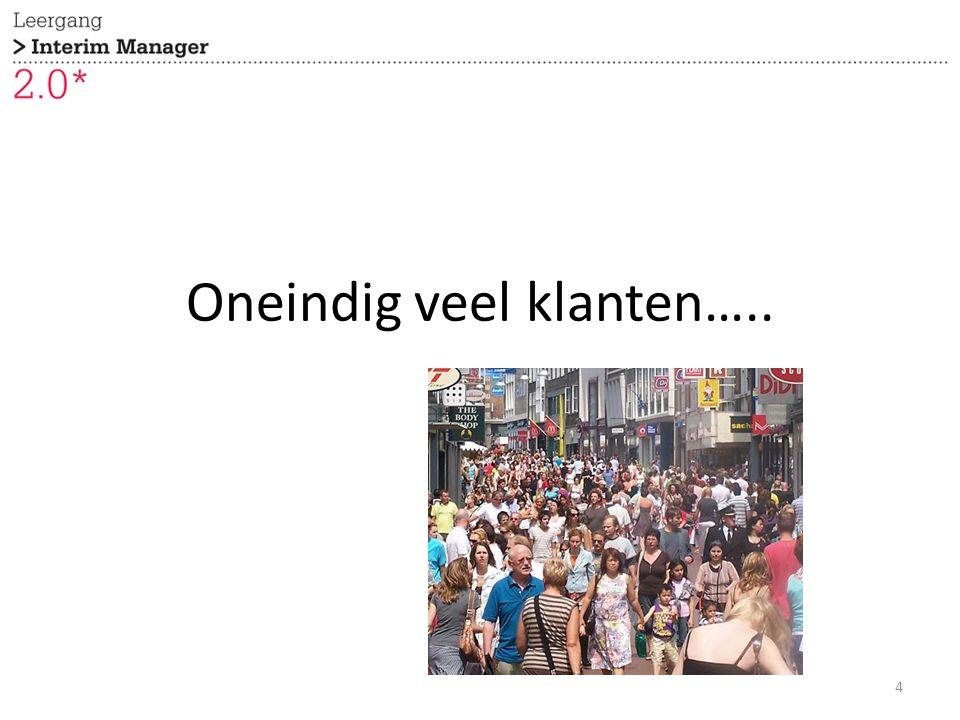 Oneindig veel klanten….. 4