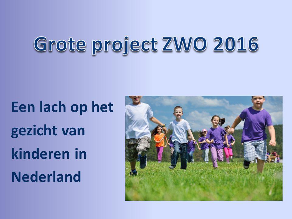 Een lach op het gezicht van kinderen in Nederland