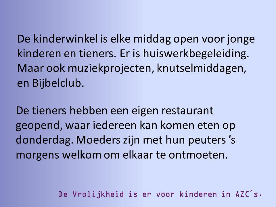 Een op de drie vluchtelingen die naar Nederland komt is jonger dan 18 jaar.
