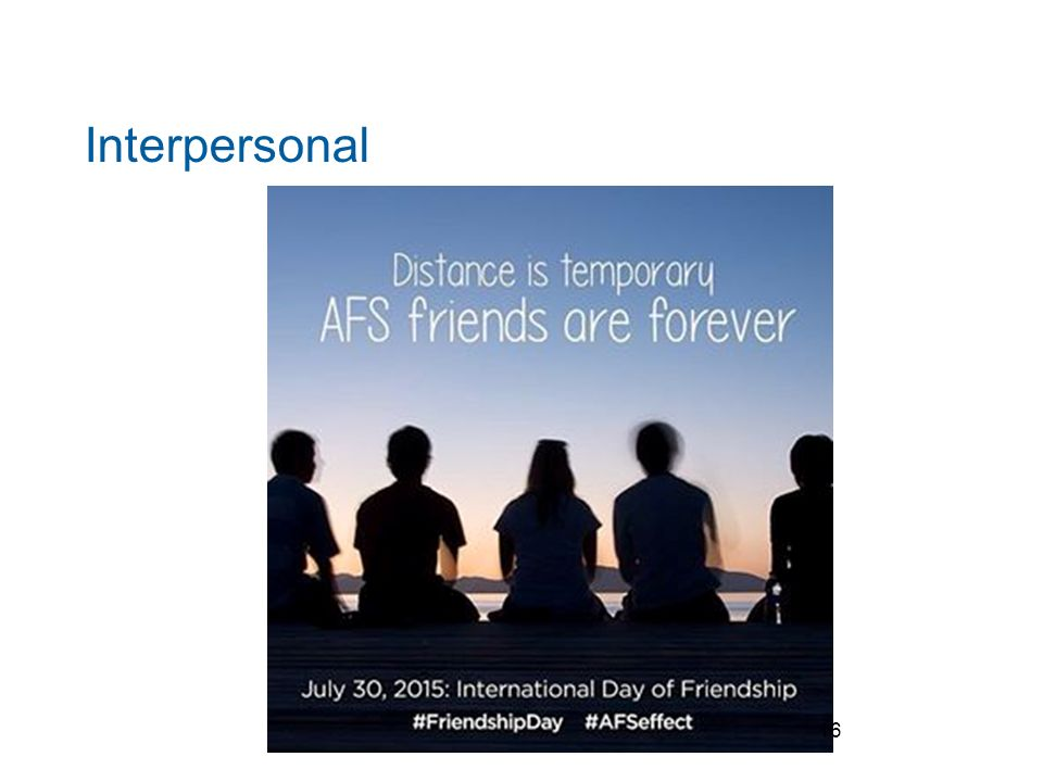 Interpersonal 16