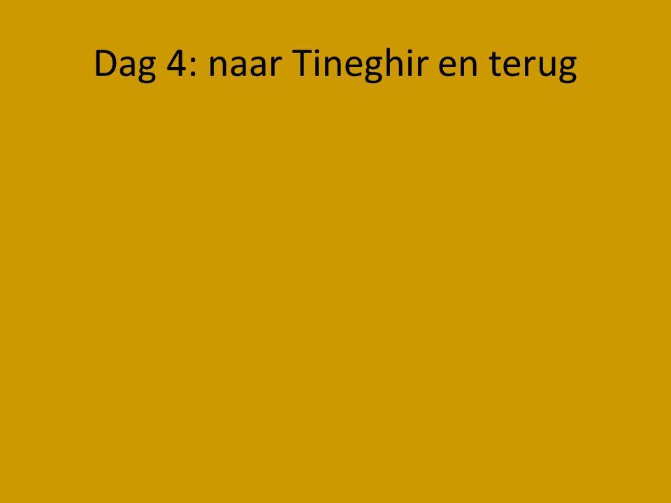 Dag 4: naar Tineghir en terug