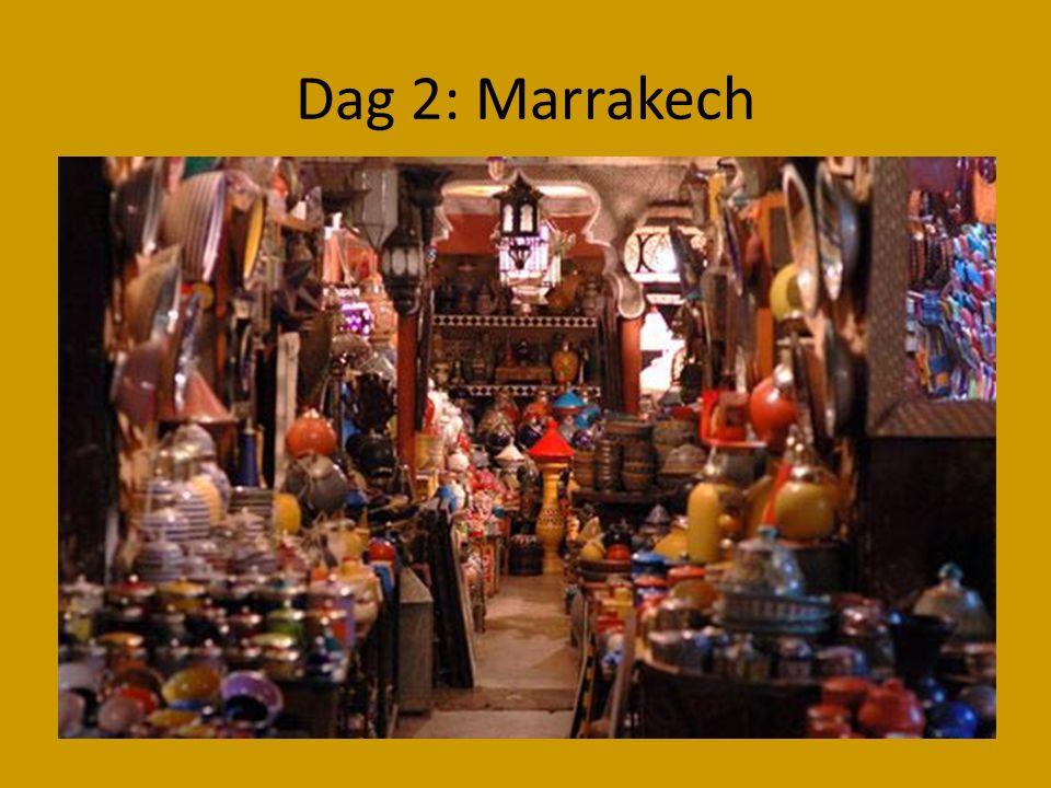 Dag 2: Marrakech