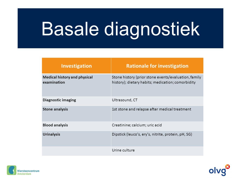 Casus 2 Man 43 jr, CaOx steen geloosd na ESWL geen relevante comorbiditeit of medicatie familieanamnese positief basale diagnostiek gb Uroloog: Indicatie voor aanvullend onderzoek?
