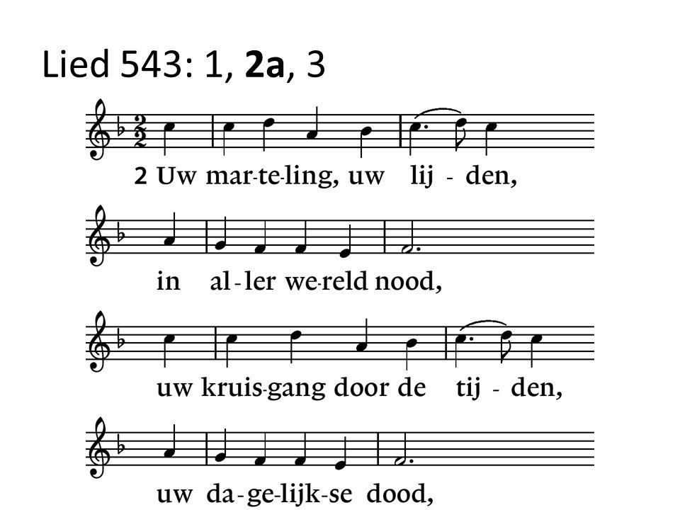 Lied 543: 1, 2a, 3