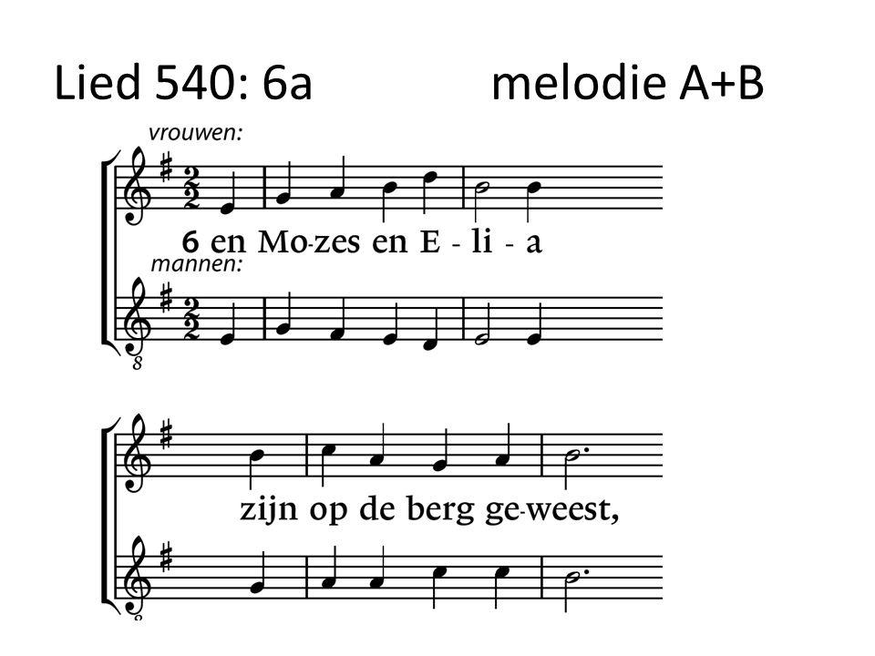 Lied 540: 6amelodie A+B