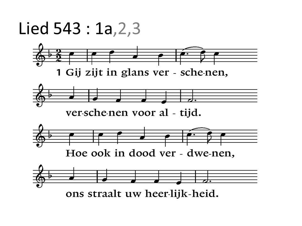 Lied 543 : 1a,2,3