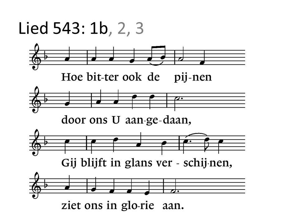 Lied 543: 1b, 2, 3