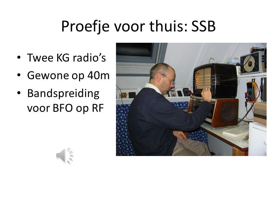 De TV-peilwagen TV: m is 40MHz Vaak 1 station Zwartkijkers, maart 1969 Zilverpapier Beperkt zilverpapier de uitstraling van de LO?