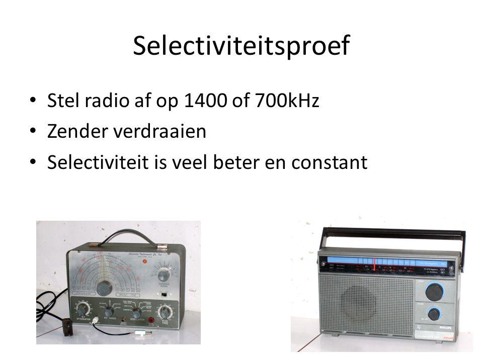 Proefje voor thuis: SSB Twee KG radio's Gewone op 40m Bandspreiding voor BFO op RF