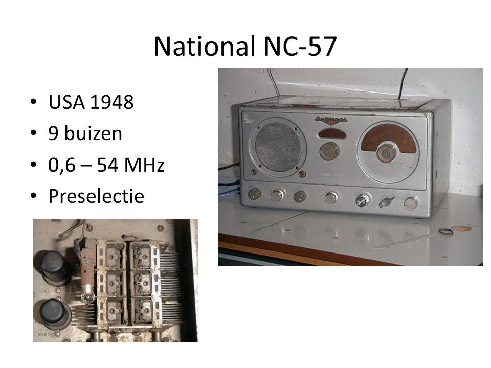 Enkelsuper: BX998A Vlaggenschip, 1955 16 buizen Bi-Ampli: 2xPL81, EL84 L, M, 3xK, FM 2 RF kringen
