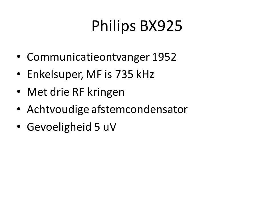 National NC-57 USA 1948 9 buizen 0,6 – 54 MHz Preselectie