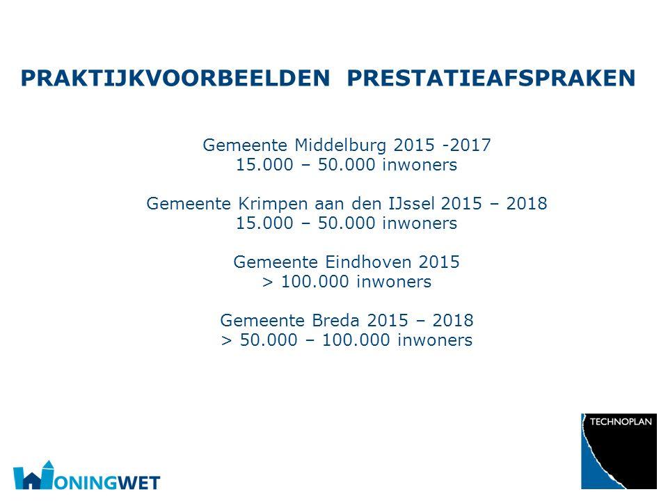 Opsomming Gebruik de knoppen op het Start-lint in de sectie 'Alinea'. PRAKTIJKVOORBEELDEN PRESTATIEAFSPRAKEN Gemeente Middelburg 2015 -2017 15.000 – 5