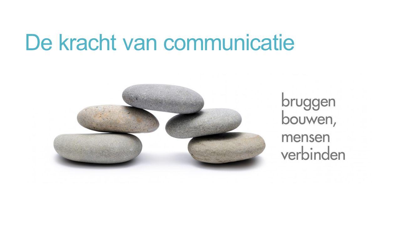 De kracht van communicatie