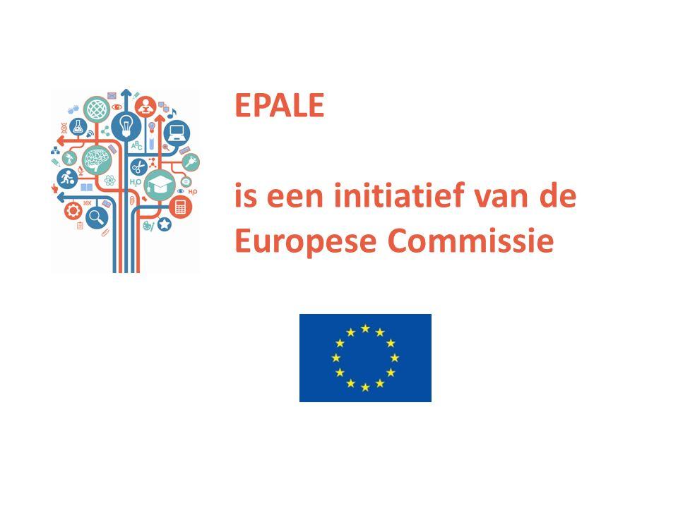 EPALE is een initiatief van de Europese Commissie