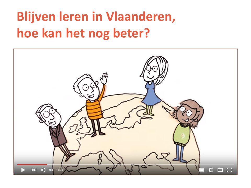 Blijven leren in Vlaanderen, hoe kan het nog beter