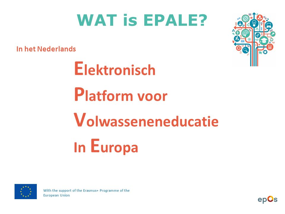 WAT is EPALE.
