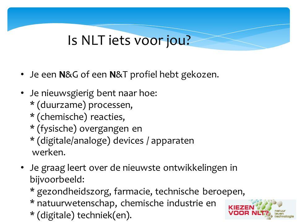 Is NLT iets voor jou. NN Je een N&G of een N&T profiel hebt gekozen.
