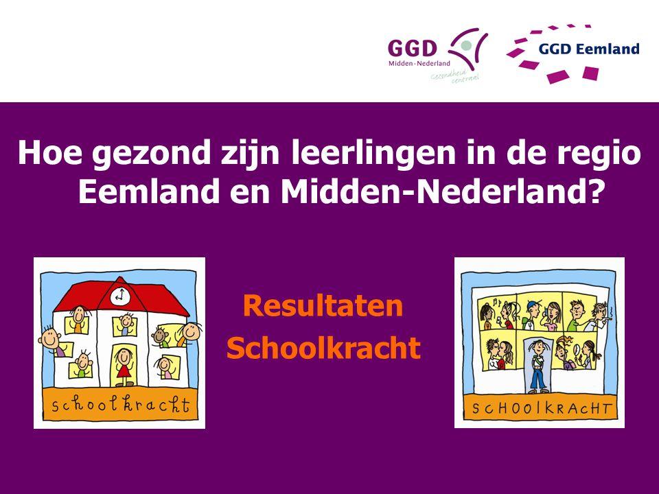 Hoe gezond zijn leerlingen in de regio Eemland en Midden-Nederland? Resultaten Schoolkracht