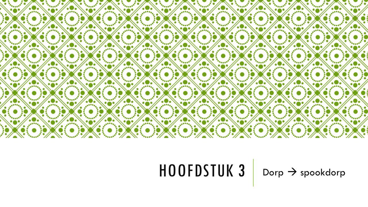 HOOFDSTUK 3 Dorp  spookdorp