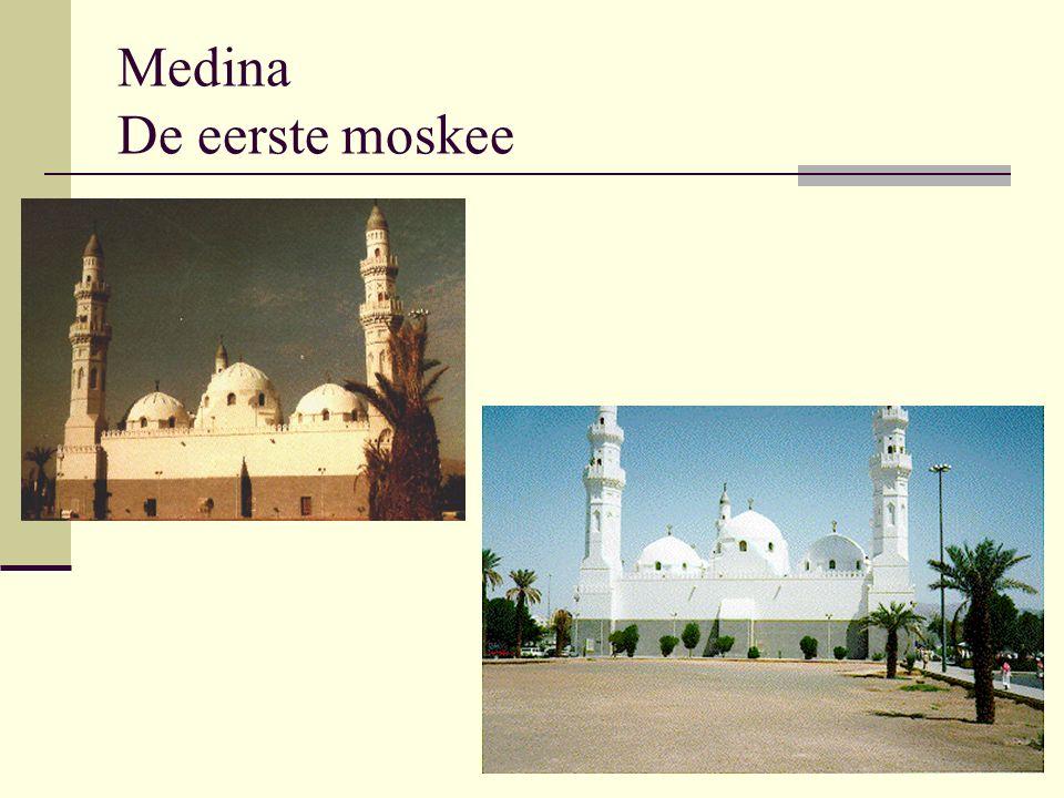 Medina De eerste moskee