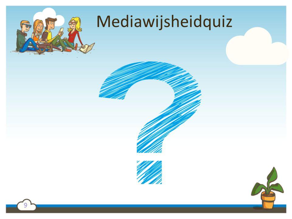 9 Mediawijsheidquiz