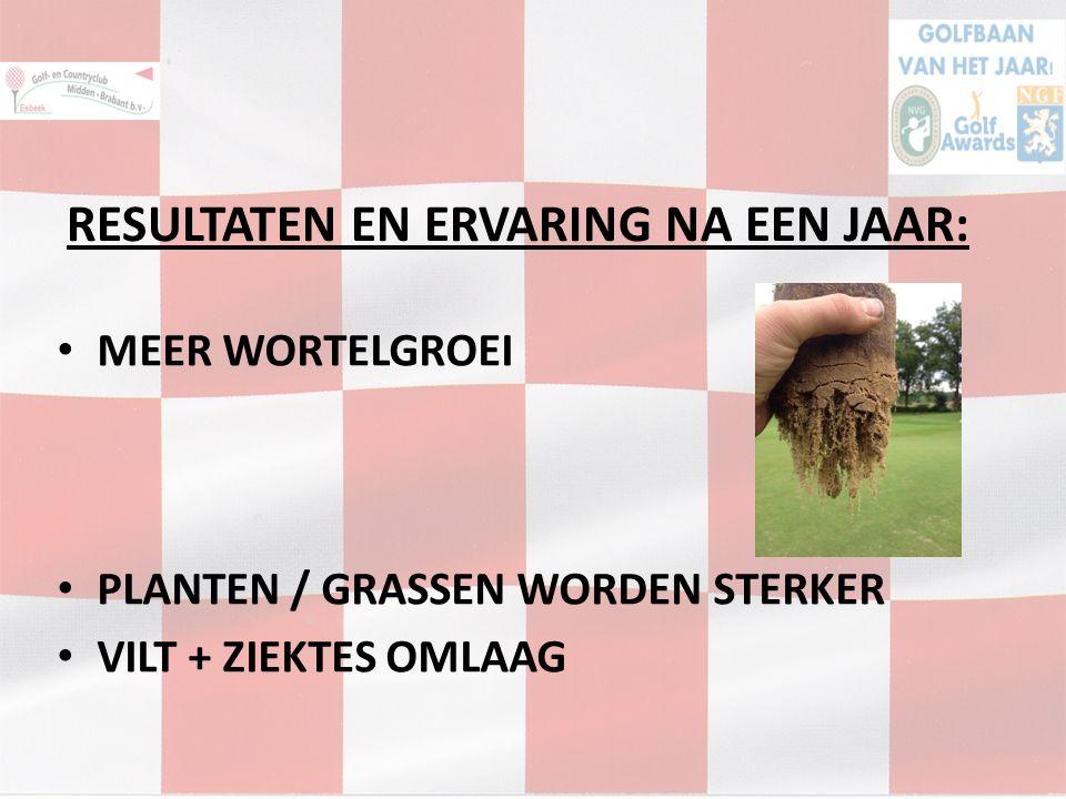 RESULTATEN EN ERVARING NA EEN JAAR: MEER WORTELGROEI PLANTEN / GRASSEN WORDEN STERKER VILT + ZIEKTES OMLAAG