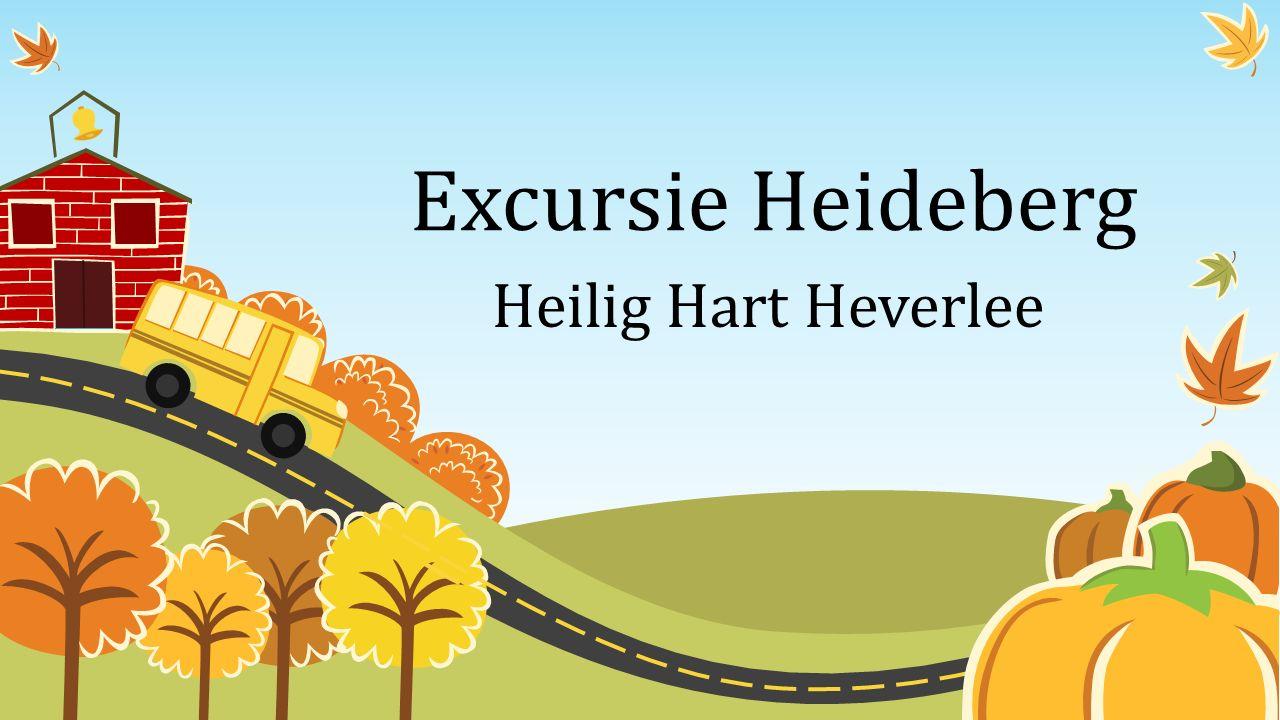 Excursie Heideberg Heilig Hart Heverlee