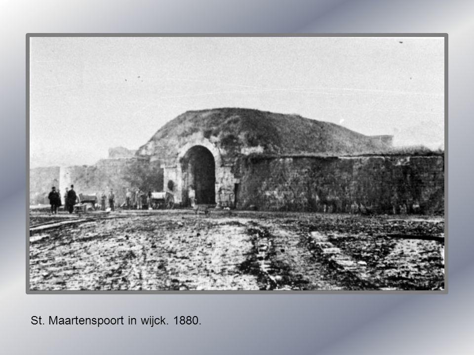 St. Maartenspoort in wijck. 1880.