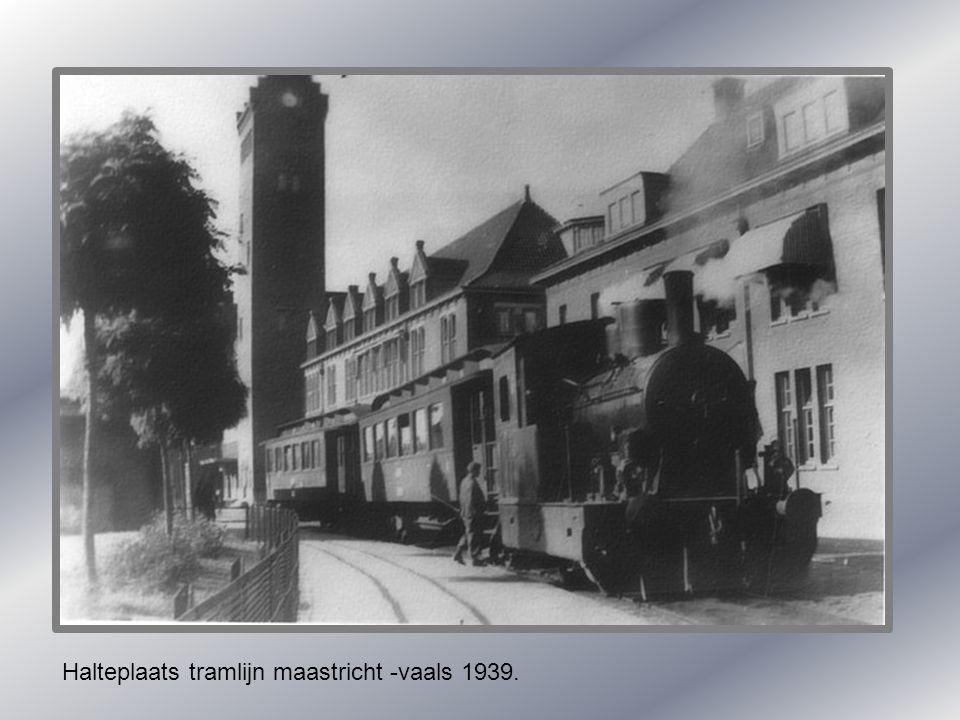 Maasbrug met versiering bezoek Kon.Wilhelmina 1895. Vissen in de maas.