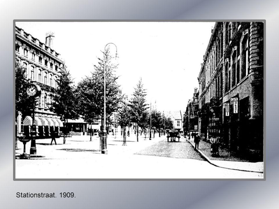 Halteplaats tramlijn maastricht -vaals 1939.