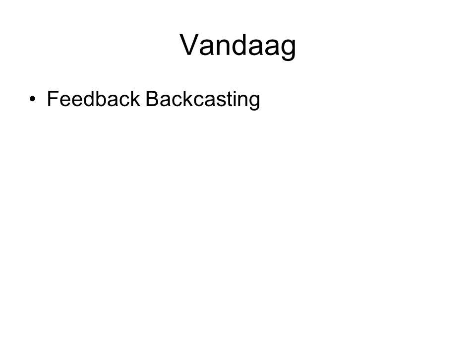 Vandaag Feedback Backcasting