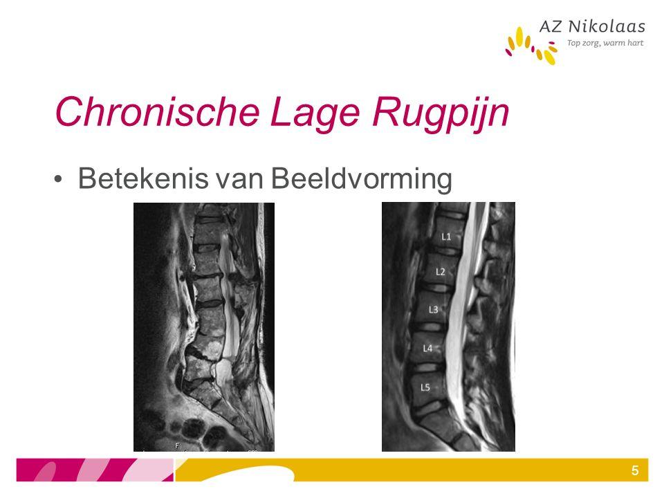 5 Chronische Lage Rugpijn Betekenis van Beeldvorming