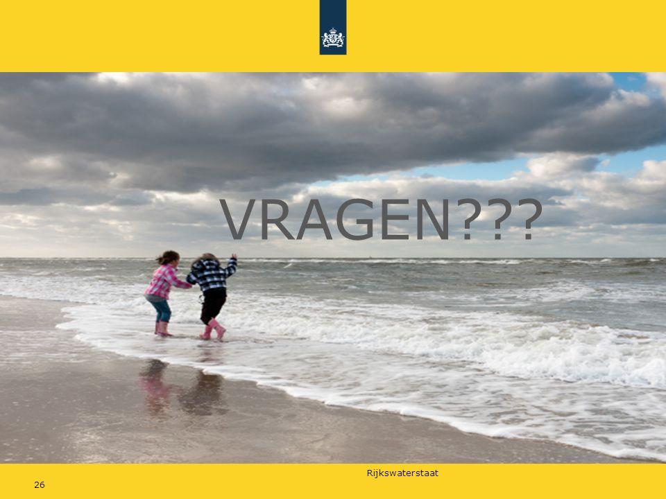 Rijkswaterstaat VRAGEN??? 26