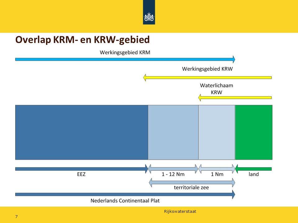 Rijkswaterstaat 7 Overlap KRM- en KRW-gebied