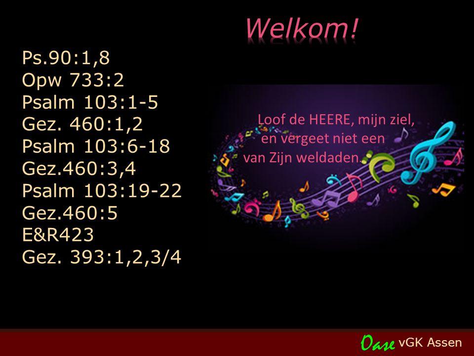 Psalm 90 (LvdK) t. W.J. van der Molen, J. Wit; m. L. Bourgeois, 1551