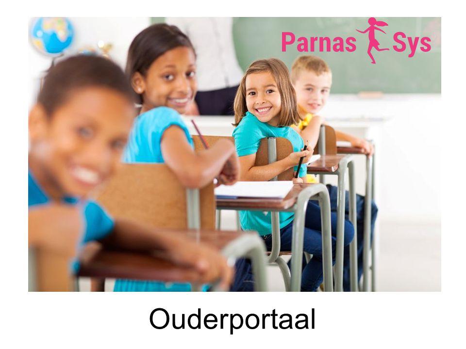 Resultaten Op het ouderportaal kan ook informatie getoond worden over de ontwikkeling van het kind.