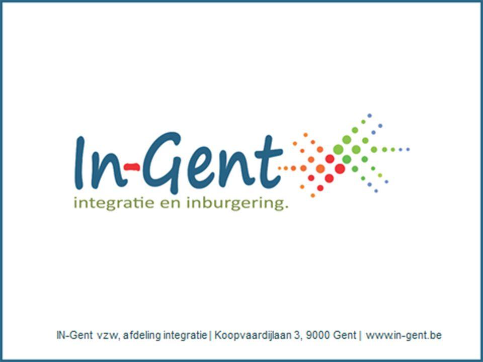 Voor meer info: IN-Gent vzw - afdeling Integratie Koopvaardijlaan 3, 9000 Gent 09 224 17 18 infopuntonderwijs@in-gent.be