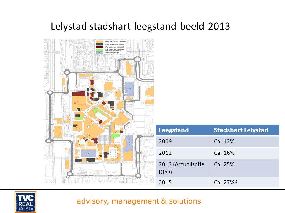Lelystad stadshart leegstand beeld 2013 LeegstandStadshart Lelystad 2009Ca.