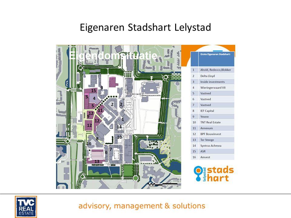 Eigenaren Stadshart Lelystad