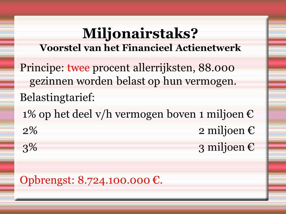 Miljonairstaks.