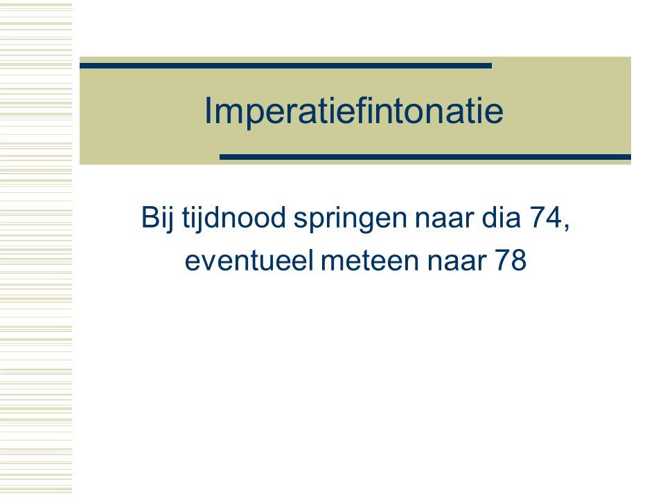 20 november 2015 DNZ9, Nijmegen 2015 58 Conclusies  Hybride opdeling van het grenstoon- continuüm linguistisch: 'geen appeal ~ appeal' paralinguistisch: 'zwakke ~ sterke appeal'  Categoriale perceptie als diagnostiek om linguistische status van een contrast te bepalen lijkt te werken