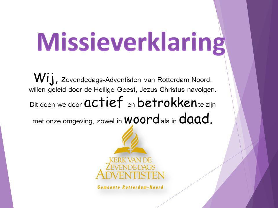 ADRA Nederland zoekt 'vrijwilliger evenementen'.