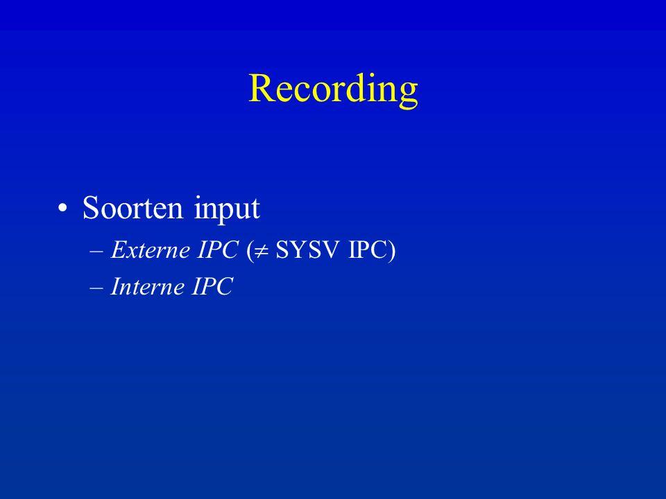 Normalisatie User data memory raw record genormaliseerde record