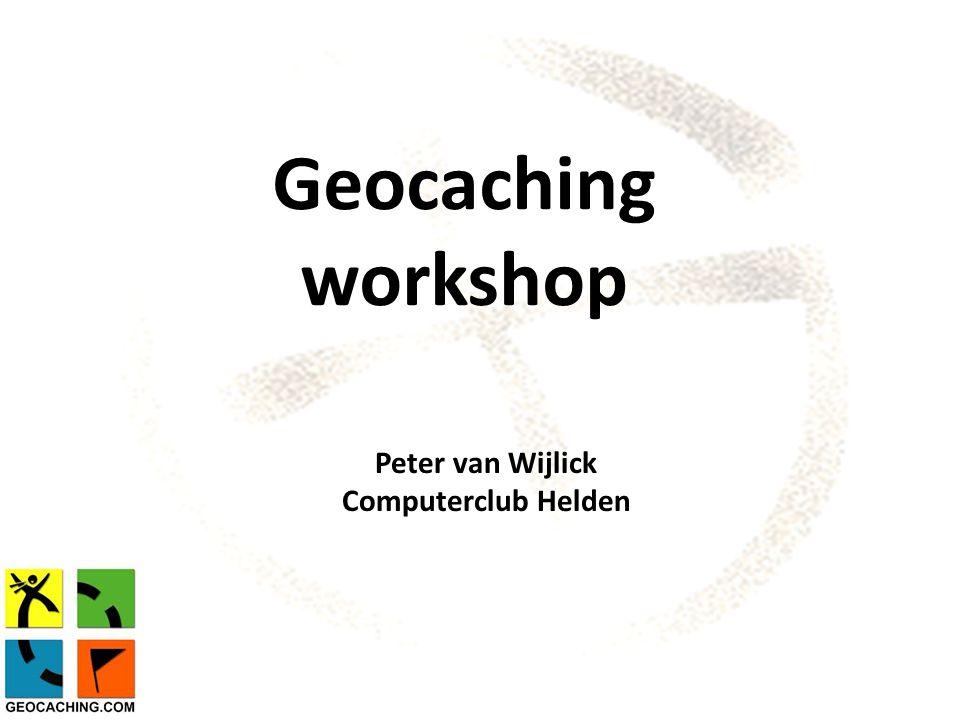 Programma  Algemeen  Geocaching.com  Hulpmiddelen  Vragen