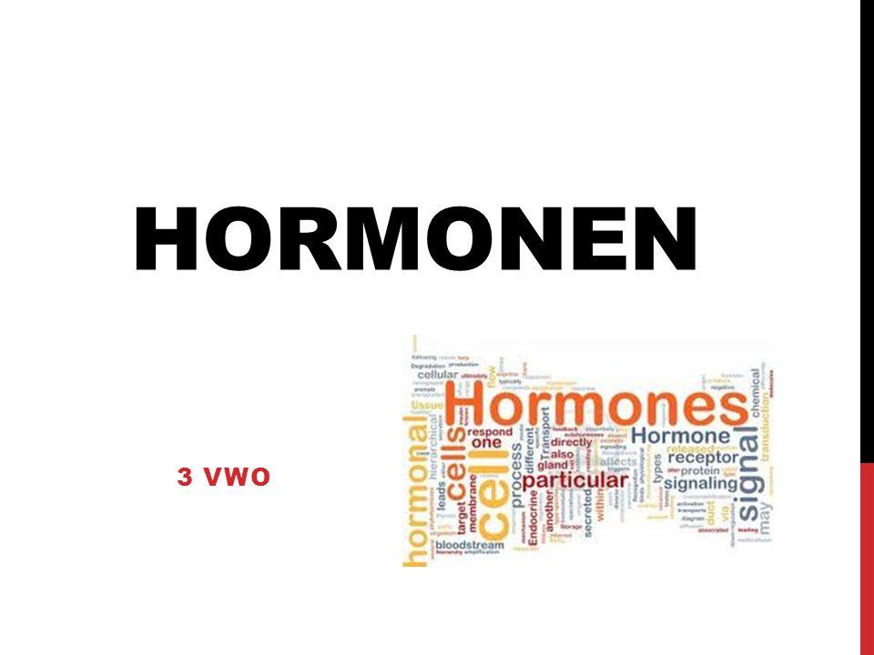 PROEFWERKWEEK Hoofdstuk 12.1 Cellen Hormonen