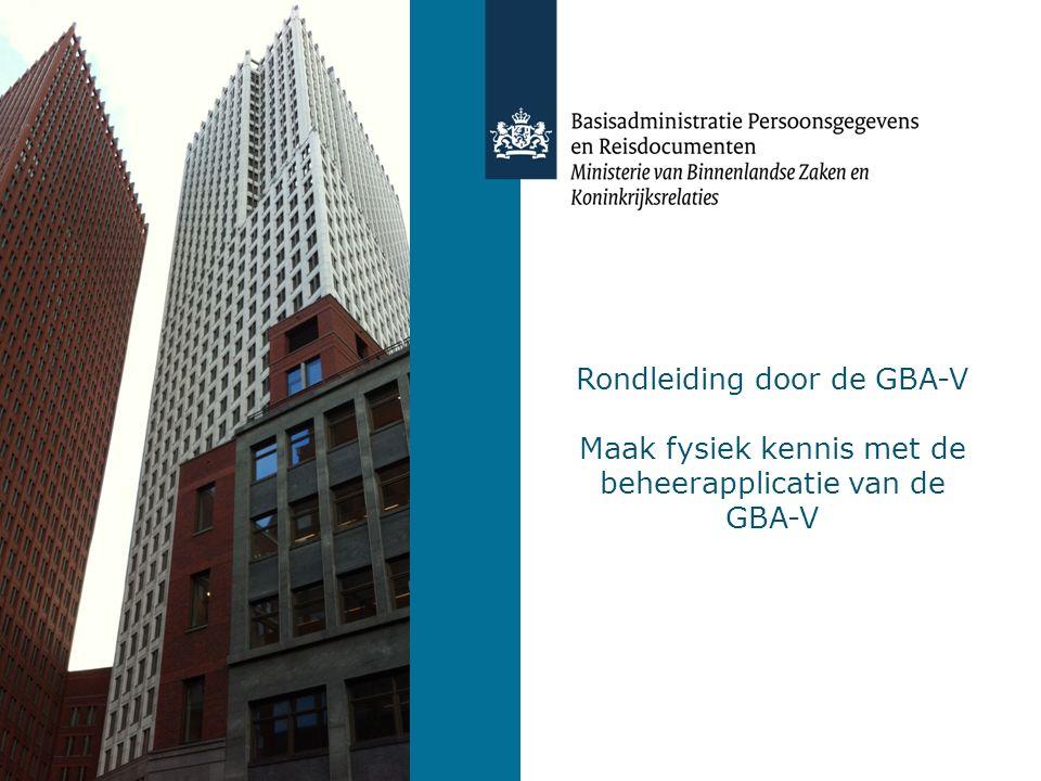 Sprekers Agentschap BPR Olaf Jansen, Gegevensbeheer Christie Heemskerk, Gegevenskwaliteit Gerrit van Laar, Gegevensbeheer (a.i.)