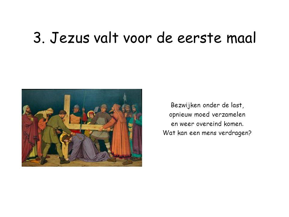 14.Jezus wordt in het graf gelegd Als iemand begraven wordt, is dan alles voorbij .
