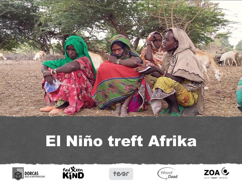 Hongersnood in Afrika In grote delen van Afrika voltrekt zich een grote humanitaire ramp door de gevolgen van El Niño.