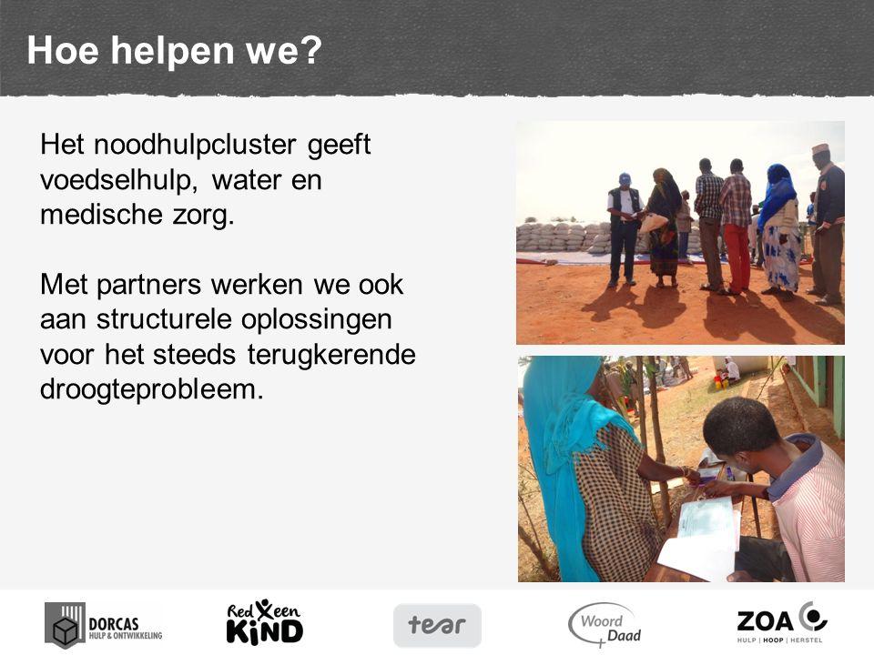 dat er een einde aan de droogte in Afrika mag komen.